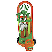 Ecoiffier Garden Trolley with Accessories
