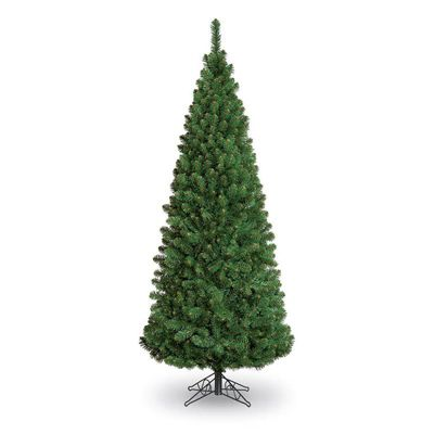 5ft Slim Glacier Fir Pencil Pine Artificial Christmas Tree
