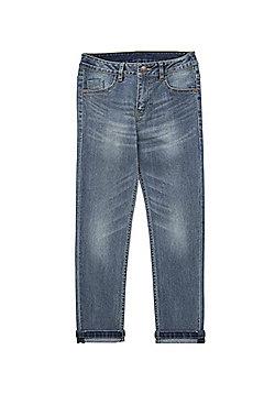 F&F Stretch Skinny Jeans - Blue