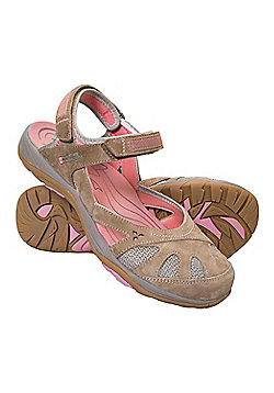 Mountain Warehouse Jasmine Covered Toe Womens Sandals - Brown