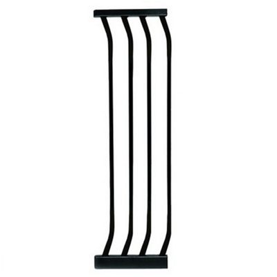 Dreambaby Extra Tall Swing Closed Stair Gate Black Extension 27cm