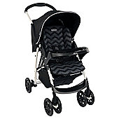 Graco Mirage Plus Travel System, Black ZigZag