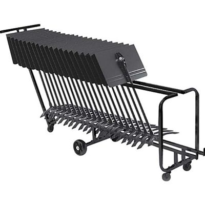 Manhasset 1910 Storage Cart - Up To 25 Stands