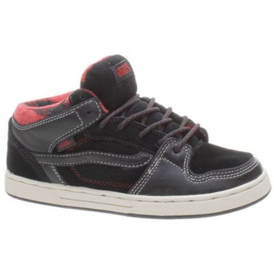 Vans Edgemont Weather Black/Red Kids Shoe NJ5LIS