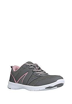 F&F Active Mesh Panel Trainers - Grey
