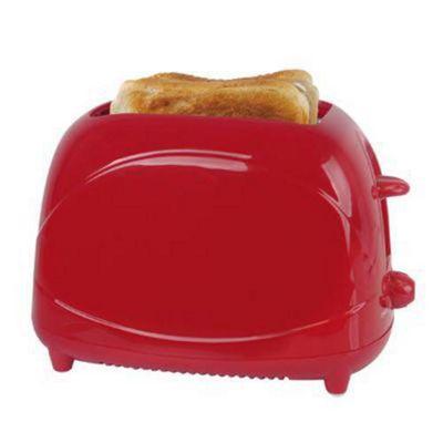 Lloytron E2010RD 2 Slice 700w Toaster - Red