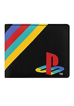 Playstation Classic Logo Bi-Fold Wallet Black
