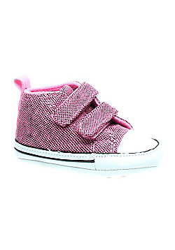 Converse First Star V Chateau Rose/Neon Shoe 805921 - Pink