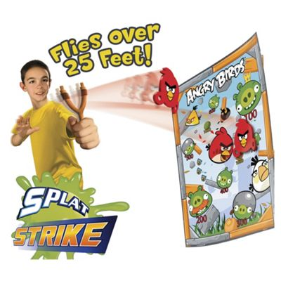Angry Birds Splat Strike Game
