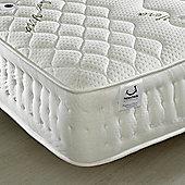 Happy Beds Aloe Vera 1500 Pocket Sprung Memory and Reflex Foam Mattress