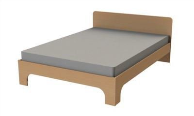 Ashcraft Milan Double Bed Frame - Beech