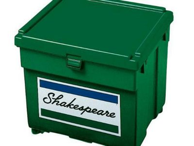 SHAKESPEARE GREEN SEATBOX TRAY