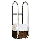 Taylor & Brown Chrome Wall Mounted Towel Rail