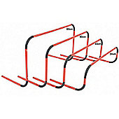 Precision Training 50cm Bounce-Back Hurdles (Set of 3)