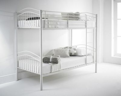 Buy Happy Beds Capri 3ft White Metal Bunk Bed Frame From Our Kids