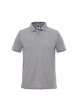The North Face Mens Polo Piquet T-Shirt - Grey