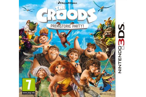 The Croods - Prehistoric Party - 3Ds