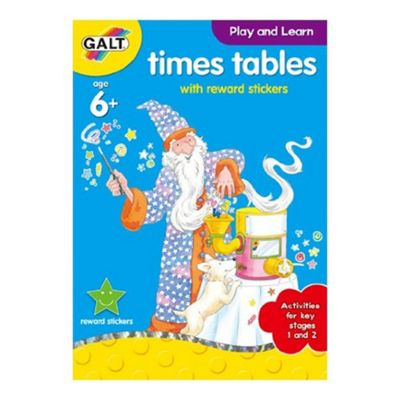 Galt - Home Learning - Times Table Book with Stickers