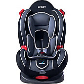 Caretero Sport Classic Car Seat (Dark Grey)