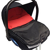 Car Seat Footmuff to Fit hauck Red