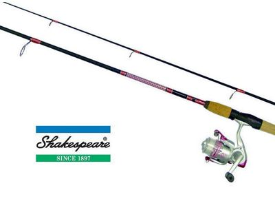 Shakespeare Lady Fish Spinning Combo