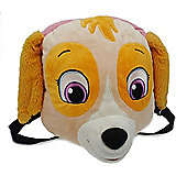 Paw Patrol Girls 'Skye' Head Plush Backpack