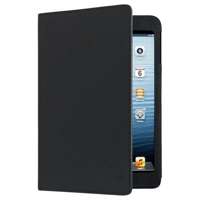 Techair Folio Stand Case (Black) for iPad Mini