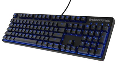 SteelSeries Apex M500 Cherry MX Red Mechanical Gaming Keyboard - Blue LED - UK Layout