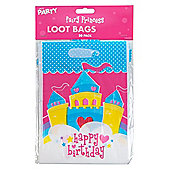 Pack of 20 Children's Birthday Party Fair Princess Party Loot Bags