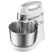 Tesco Stand Mixer, 300W - White and Stainless Steel