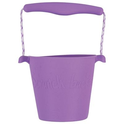 Scrunch Bucket (Purple) - Sand and Beach Toys