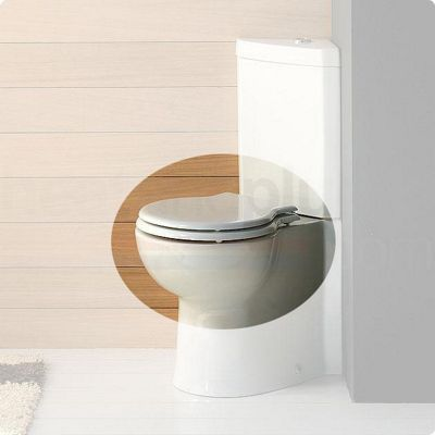 RAK Evolution Luxury Plastic Toilet Seat