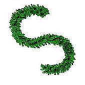Imperial Pine Christmas Garland - Plain Green - 270cm X 30cm