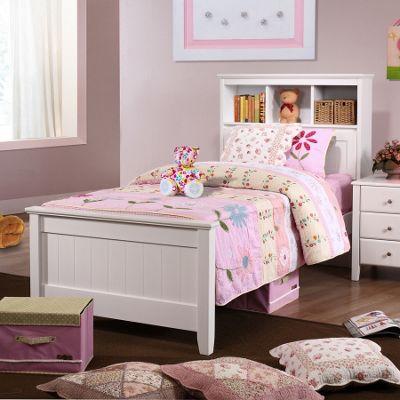 Butterworth Single Storage Bed - White
