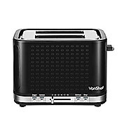 VonShef 2 Slice Wide Slot Toaster