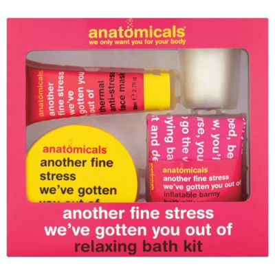 Anatomicals Fine Stress We've Gotten You Out Of Relaxing Bath Kit