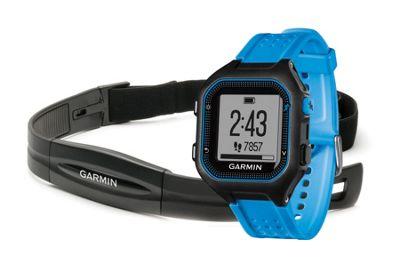Garmin Forerunner 25 GPS Watch HRM Bundle Large Blue