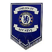 Chelsea FC Metal Key Hook Sign