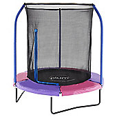 Plum 6ft Trampoline and enclosure