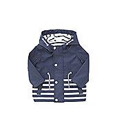 F&F Striped Mac - Blue