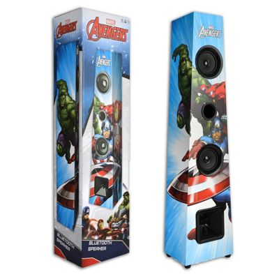 Marvel Avengers Bluetooth Tower Speaker - Film Version