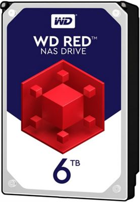 WD 6TB Red 64MB 3.5IN SATA 6GB/S NAS Hard Drive