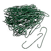 Christmas Tree Ornament Hangers - Green - Pack of 100