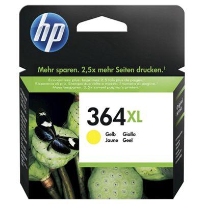 HP 364XL High Yield Yellow Original Ink Cartridge