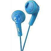 JVC XS15 Gumy Base Boost Stereo Headphones Blue