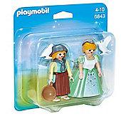 Playmobil Duo Pack Princess and Handmaid 6843
