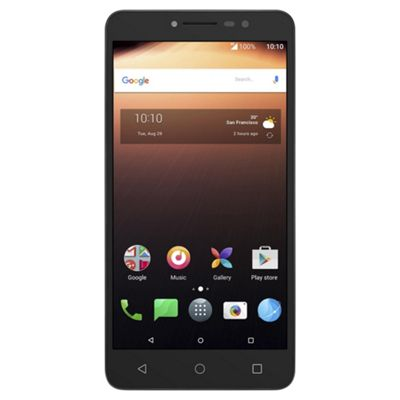 Tesco Mobile Alcatel A3 XL -Sideral Grey