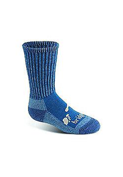 Bridgedale Kids Wool Fusion Trekker Sock - Grey