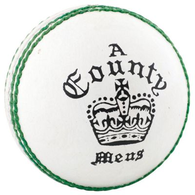 Readers County Crown Cricket Ball - White - Womens 5 oz