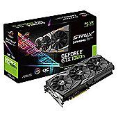ASUS NVIDIA GeForce GTX 1080TI ROG Strix Edition 11 GB GDDR5X 1708 MHz PCI Express 3 Graphics Card - Black